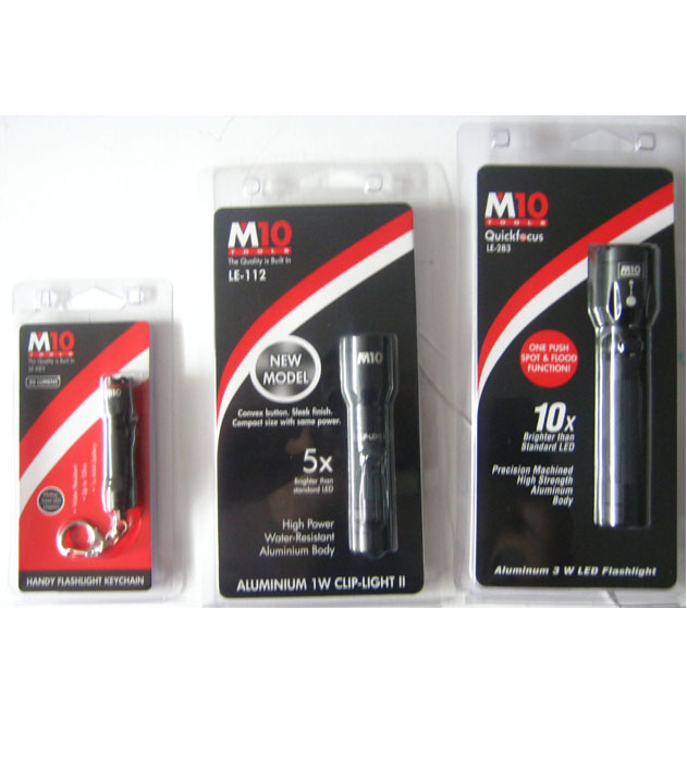 M10 Led 283 Quick Focus 3w Led Torch Light