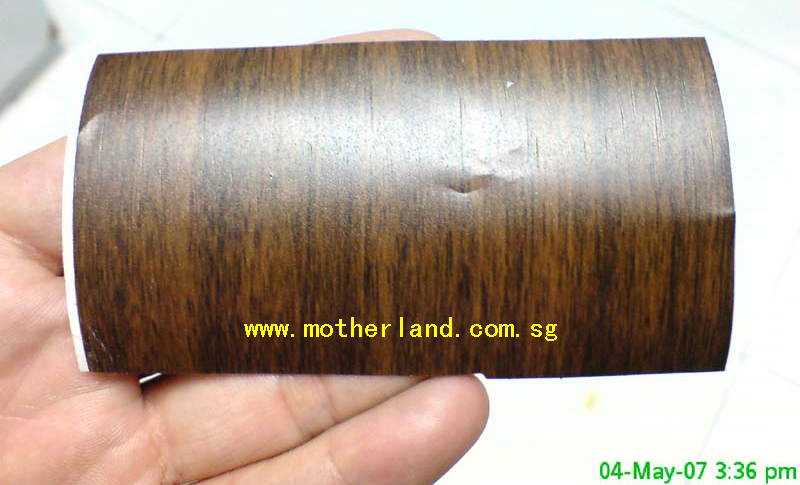 Wood pattern vinyl sticker 48 height